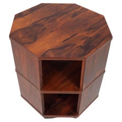 Harvey Probber Rosewood Octagonal Side Table