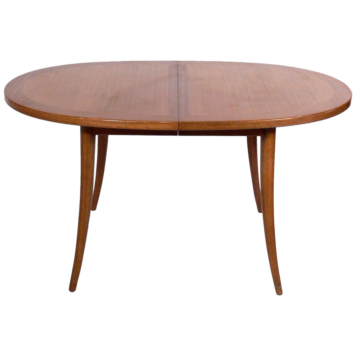Harvey Probber Saber Leg Dining Table