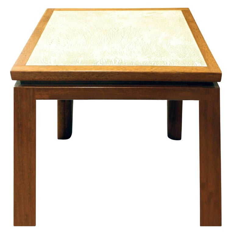 Harvey Probber Set Of Three Coffee Tables With Artisan