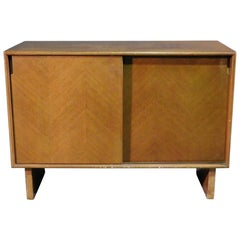 Harvey Probber Sliding Door Cabinet