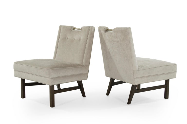 American Harvey Probber Slipper Chairs, 1950s For Sale