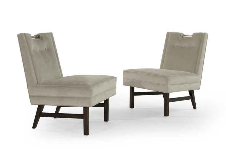 Harvey Probber Slipper Chairs, 1950s In Excellent Condition For Sale In Stamford, CT