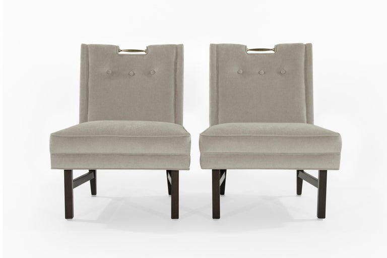 20th Century Harvey Probber Slipper Chairs, 1950s For Sale