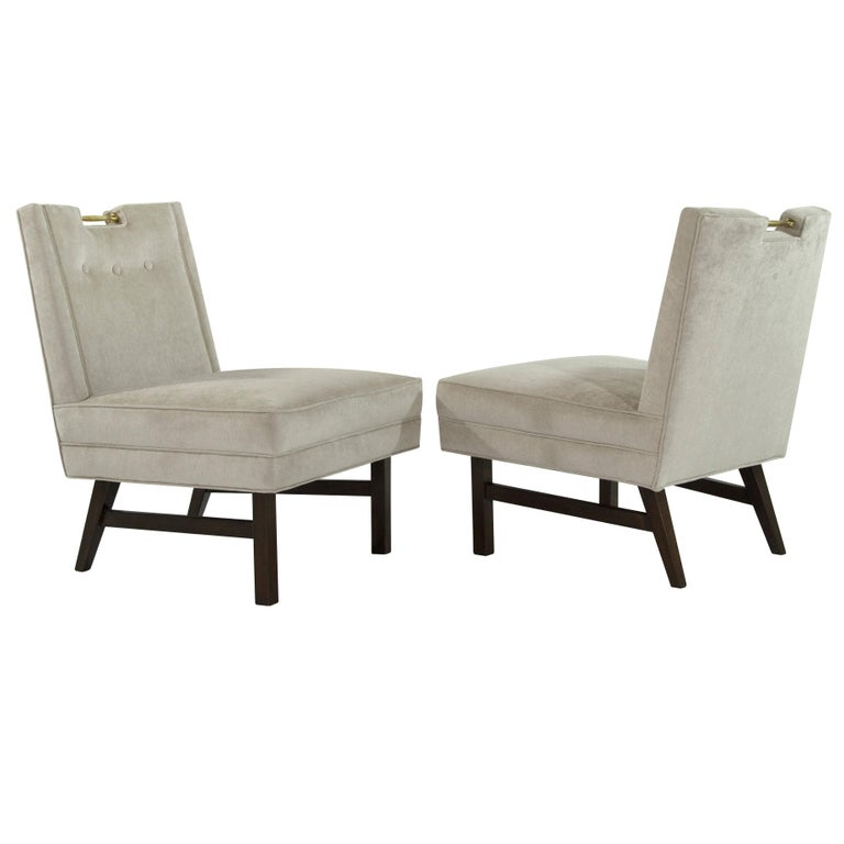 Harvey Probber Slipper Chairs, 1950s For Sale