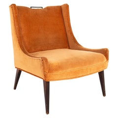 Harvey Probber Style Mid Century Slipper Lounge Chair