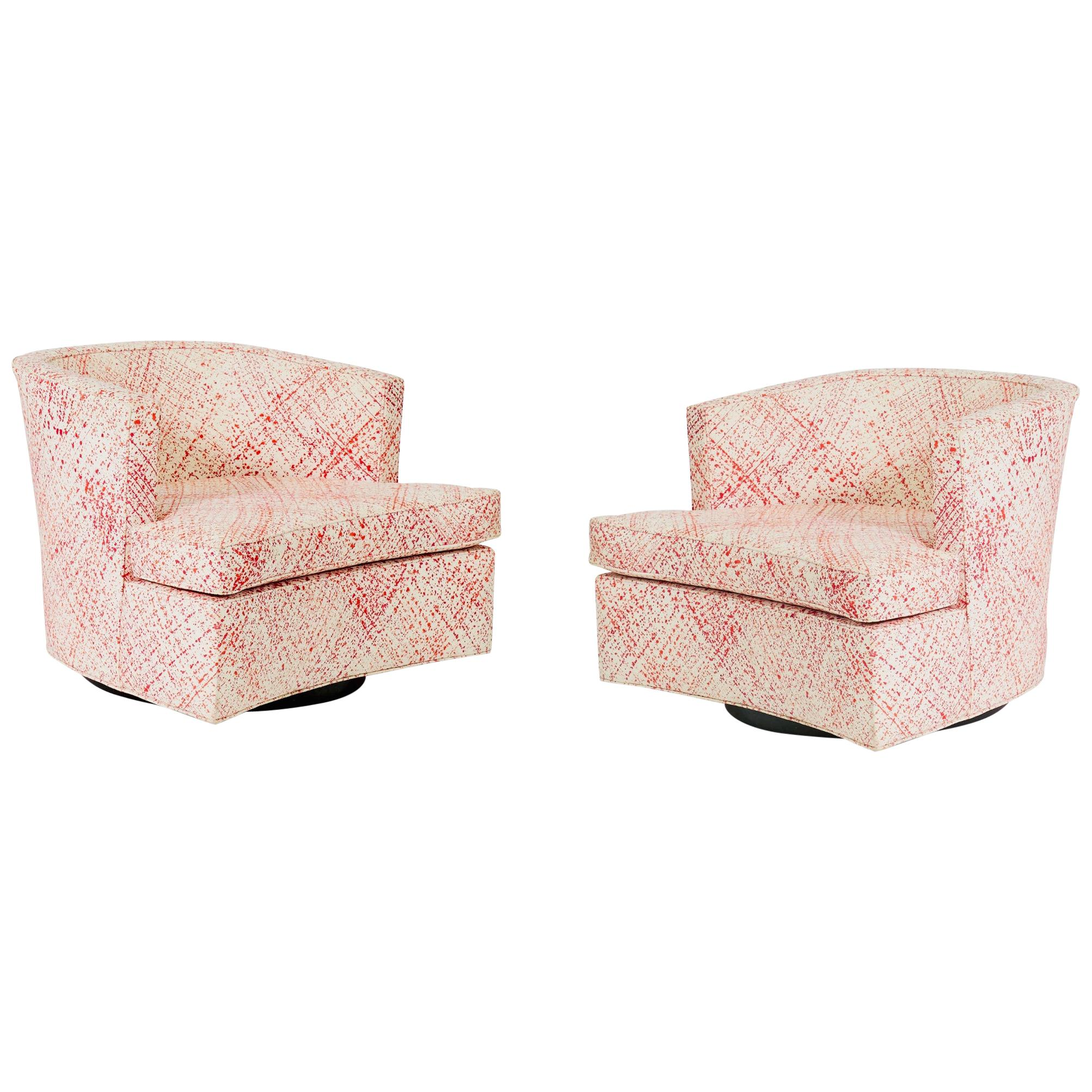 Harvey Probber Swivel Chairs