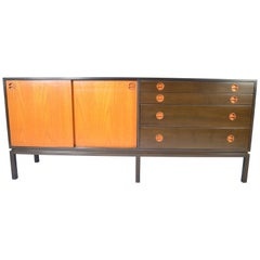 Harvey Probber Teak and Mahogany Credenza