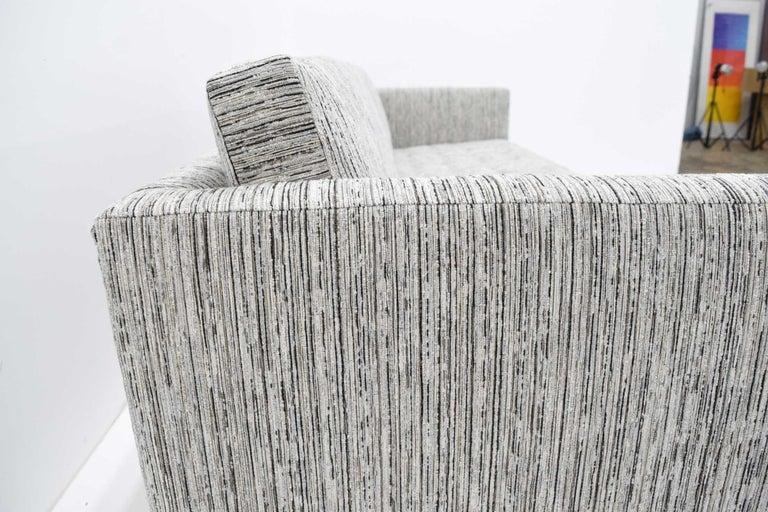 Harvey Probber Tuxedo Sofa For Sale 3