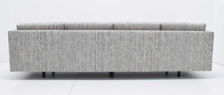 Harvey Probber Tuxedo Sofa For Sale 4