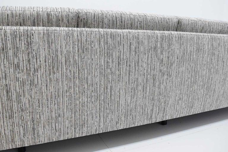Harvey Probber Tuxedo Sofa For Sale 6