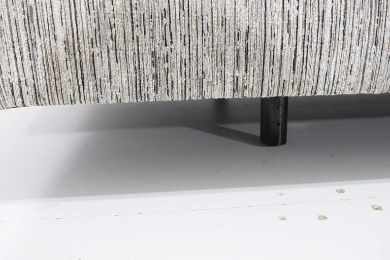 Mid-Century Modern Harvey Probber Tuxedo Sofa For Sale