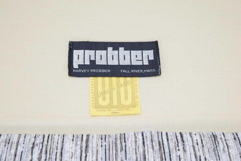 American Harvey Probber Tuxedo Sofa For Sale