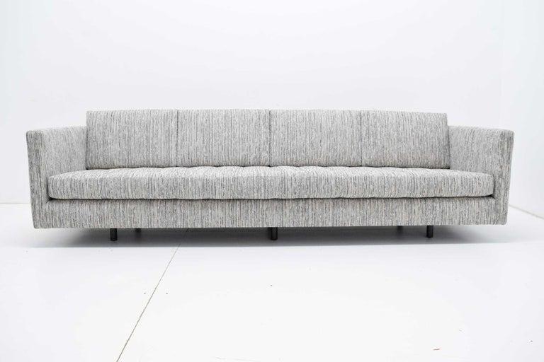 Harvey Probber Tuxedo Sofa In Excellent Condition For Sale In Dallas, TX
