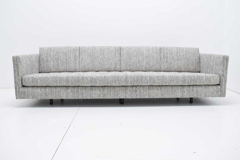 20th Century Harvey Probber Tuxedo Sofa For Sale