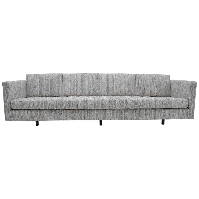 Harvey Probber Tuxedo Sofa For Sale
