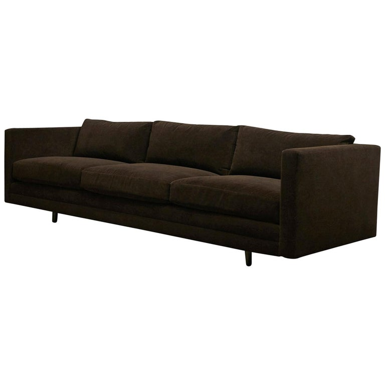 Harvey Probber, Tuxedo Sofa For Sale