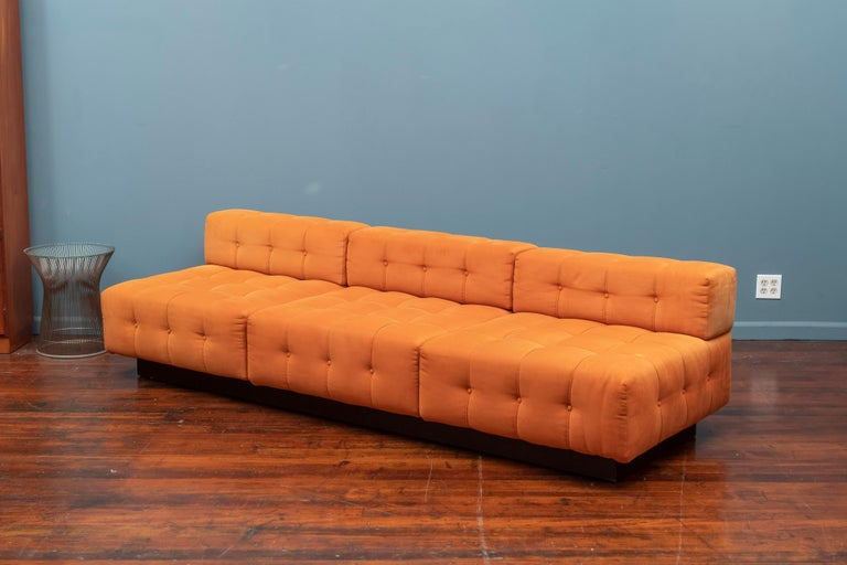 American Harvey Probber Cubo Sectional Sofa For Sale