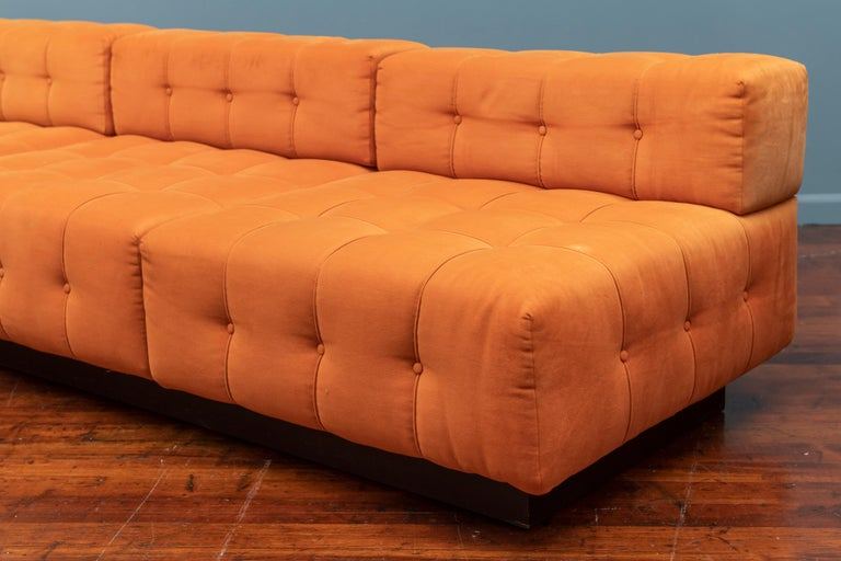 Harvey Probber Cubo Sectional Sofa In Good Condition For Sale In San Francisco, CA