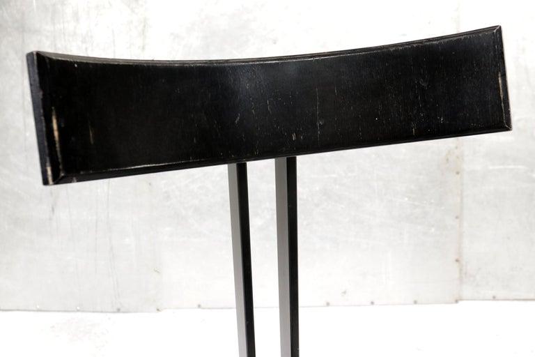Dutch Harvink Zeta Chairs Memphis Style 1980s Design For Sale