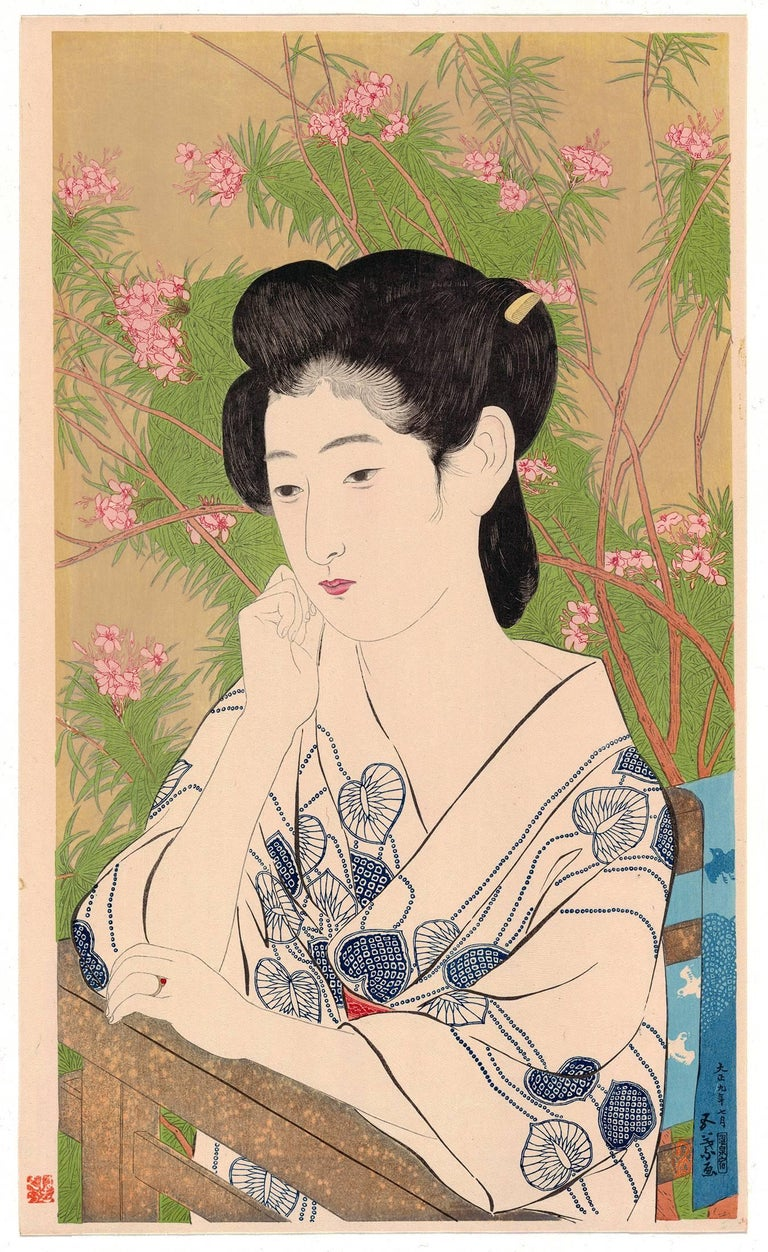 Goyo Hashiguchi, Ukiyo-e, Japanese Woodblock Print, Beauty, Japanese Art, Beauty