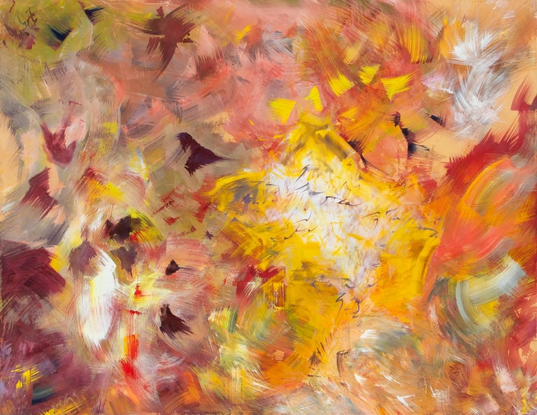 Hassel Smith Abstract Painting - Untitled