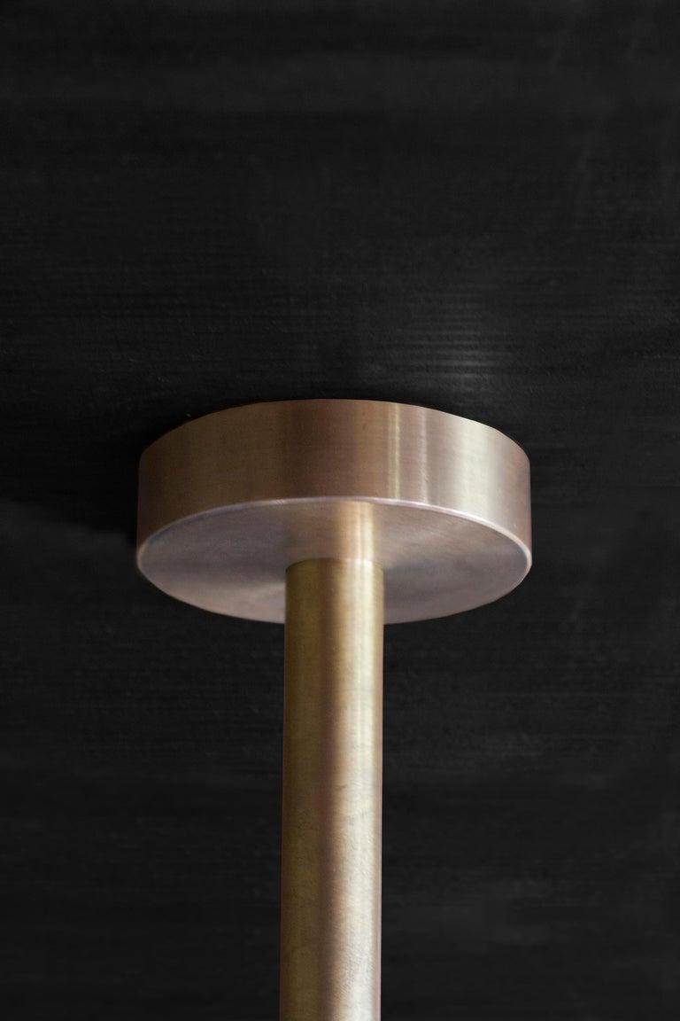 Hasta Brass Hanging Lamp, Jan Garncarek For Sale 3