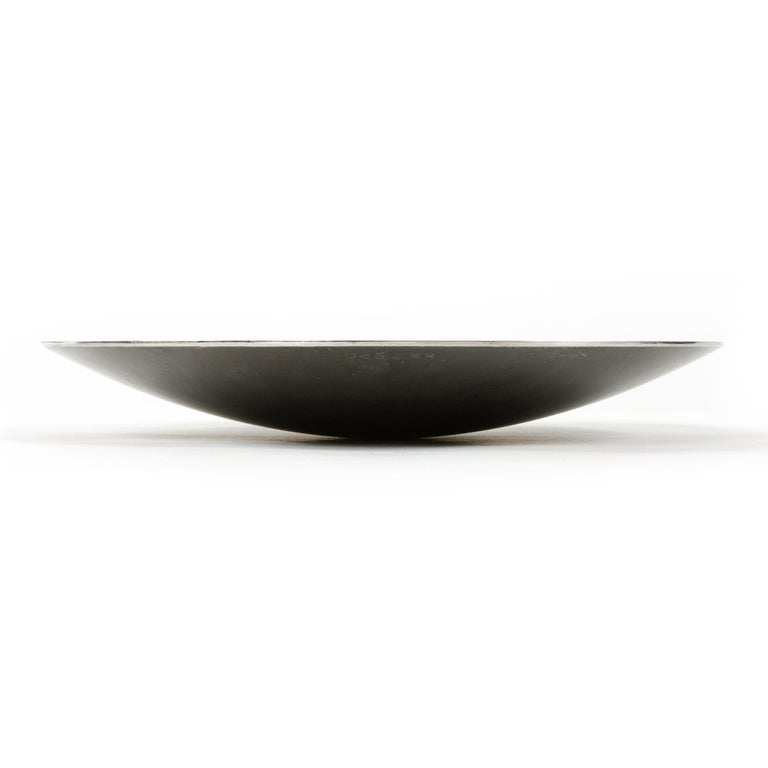 Industrial Hastelloy Metal Bowl by Bausch & Lomb For Sale
