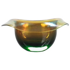 Hat Vase or Bowl Murano Glass, Italy, circa 1970