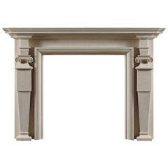 Hatfield Reproduction Fireplace Mantel