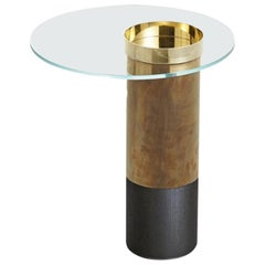 Haumea Brass Coffee Table Small by Massimo Castagna