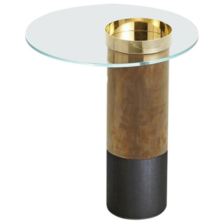 Haumea Brass Coffee Table Small by Massimo Castagna For Sale