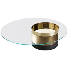 Haumea Coffee Table Glass M by Massimo Castagna