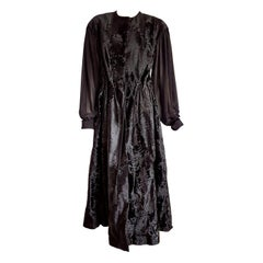 "Haute Couture Giuliana TESO ""New"" Wild Russian Breitschwanz Fur Dress - Unworn"