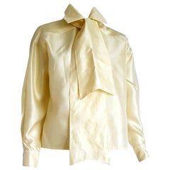 "Haute Couture Ines de la FRESSANGE ""New"" Single pc Unique Design Shirt - Unworn"