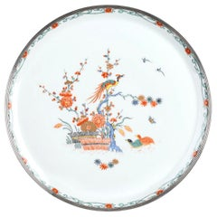 Haviland Limoges Porcelain Plate by Maison Puiforcat