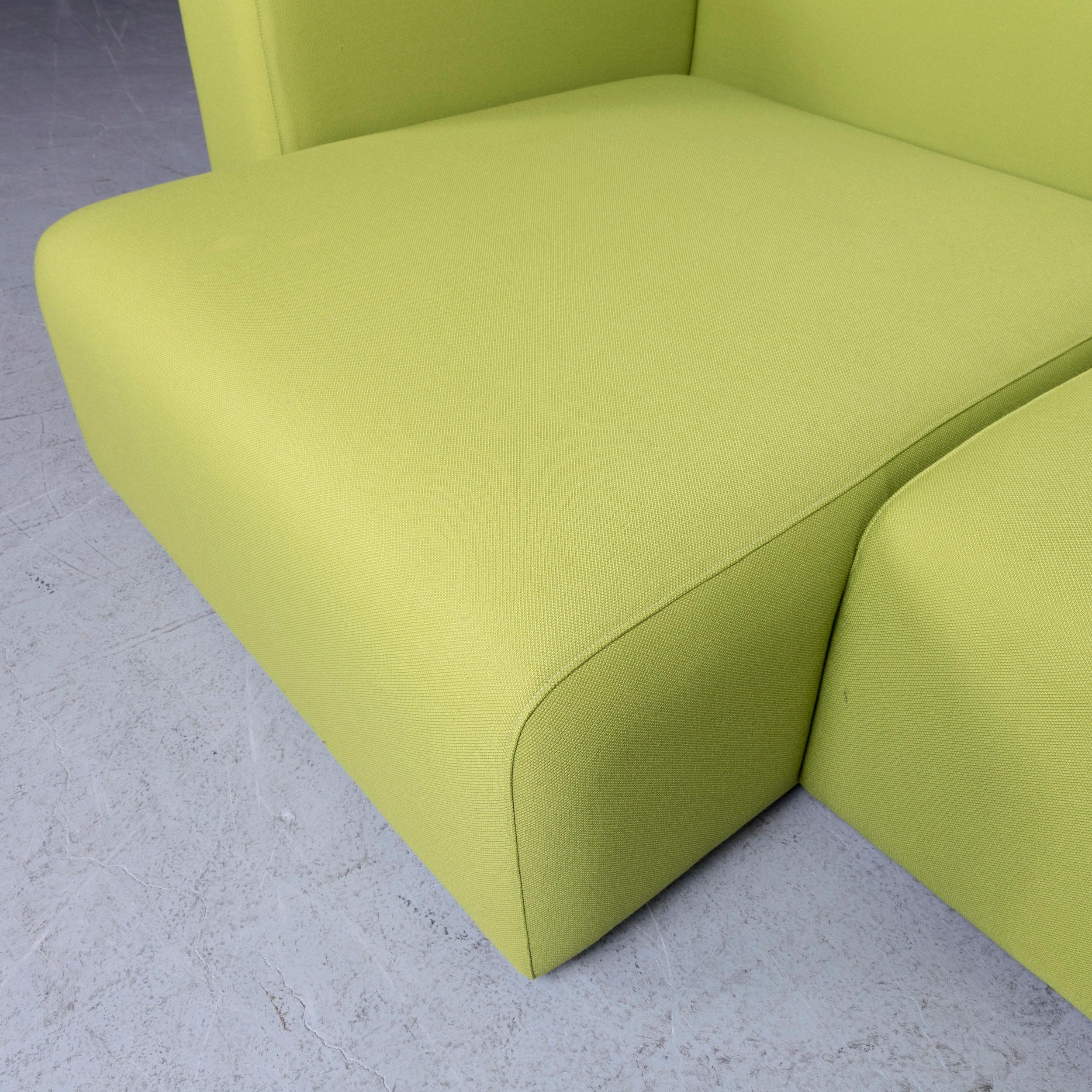 Pleasant Hay Mags Designer Fabric Sofa Green Corner Couch At 1Stdibs Pabps2019 Chair Design Images Pabps2019Com