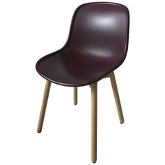 HAY Neu 13 Chair Matte Lacquer Bordeaux shell