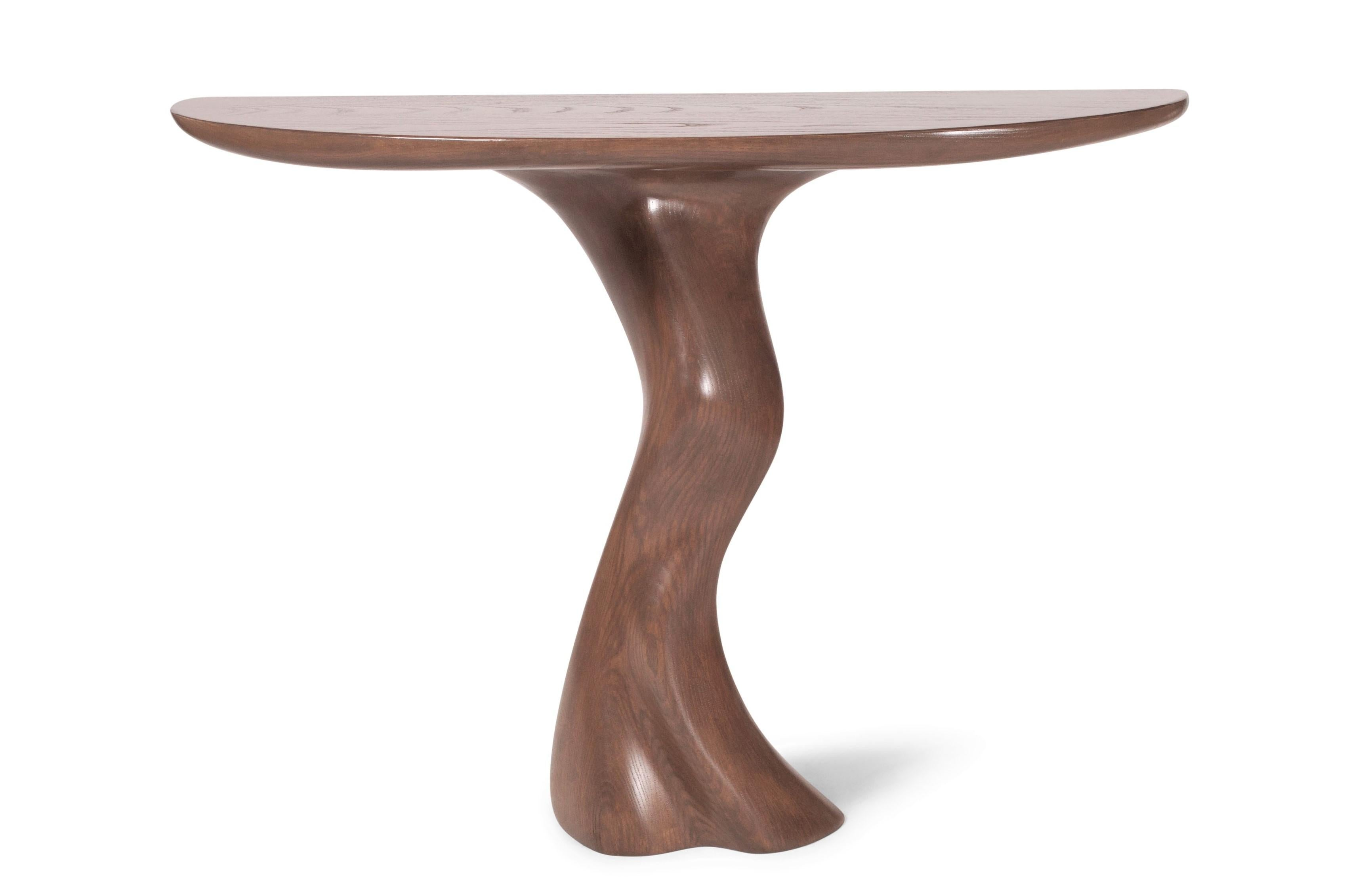 Amorph Haya Console   Solid Wood   Custom Finish