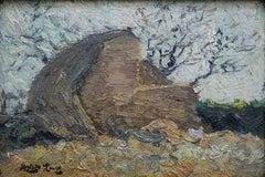 """Concarneau, Brittany, France"" Hayley Lever, American Impressionism"