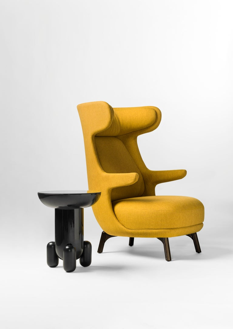 Hayon Edition Dino Armchair in Fabric and Leather Upholstery by BD Barcelona For Sale 2