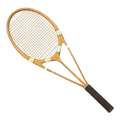 Hazell Streamline Tennis Racket, Green Star, Frank Donisthorpe