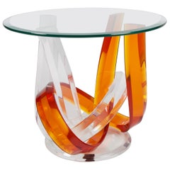 Haziza Lucite Side Table