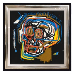 Head, after Jean-Michel Basquiat, from Portfolio 1, 1983-2001