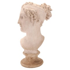 Head of a Women Neoclassic Portrait, Italy, 1890