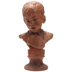 Head of a Young Roguish Child, Italy, 1900