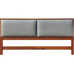 Rare King-Size Headboard by Frank Lloyd Wright