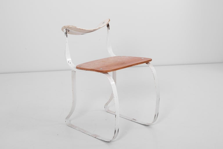 Health Chair by Herman A. Sperlich for Ironrite Inc., US, 1930s 2