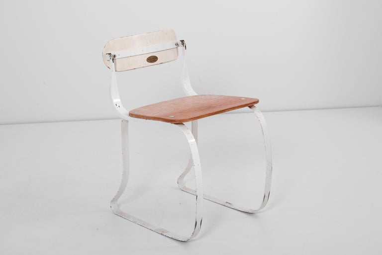Health Chair by Herman A. Sperlich for Ironrite Inc., US, 1930s 3