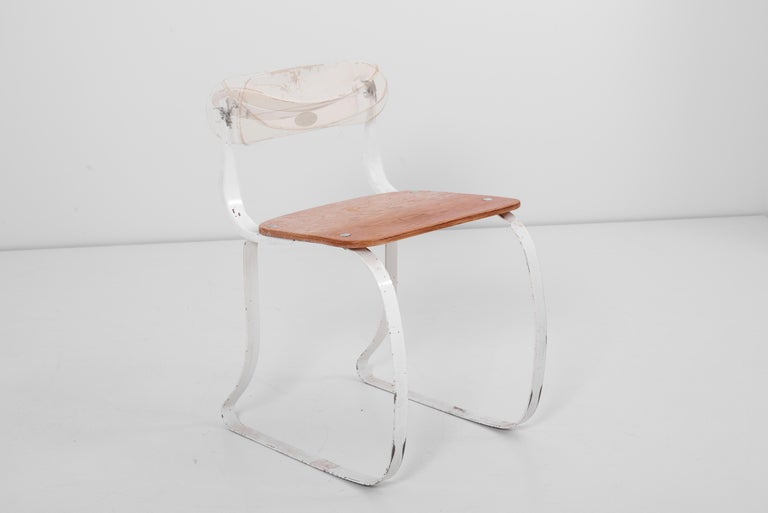 Mid-20th Century Health Chair by Herman A. Sperlich for Ironrite Inc., US, 1930s