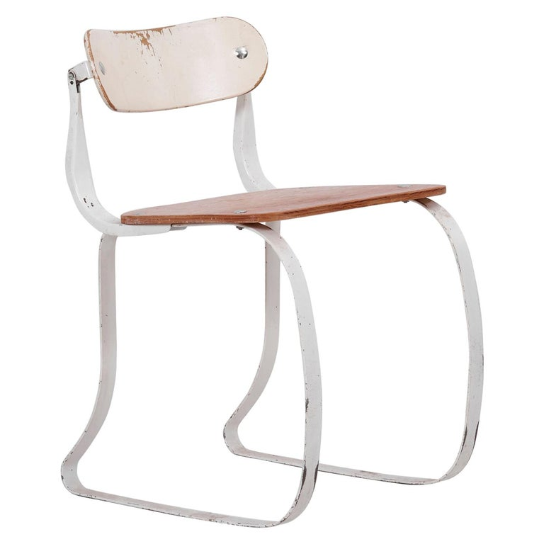 Health Chair by Herman A. Sperlich for Ironrite Inc., US, 1930s